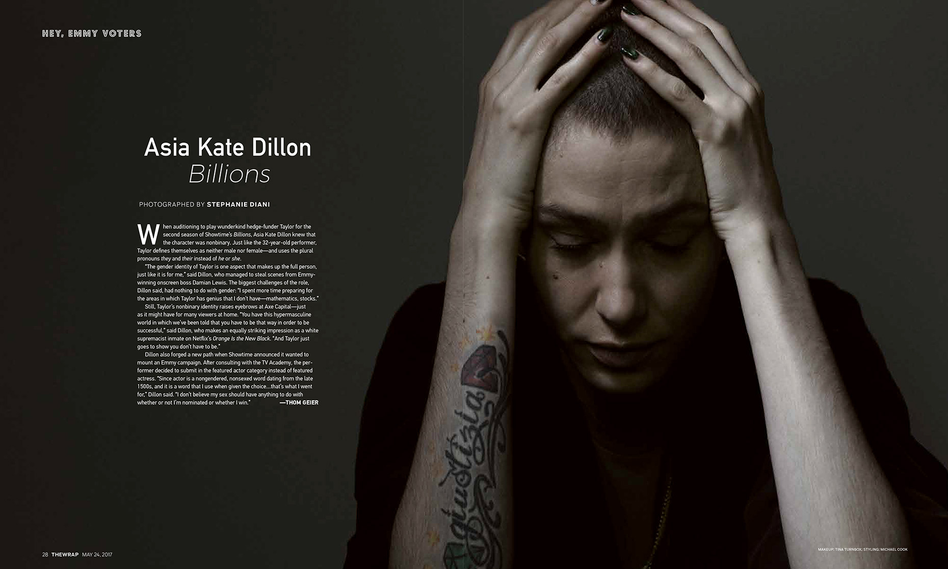 The Wrap Asia Kate Dillon