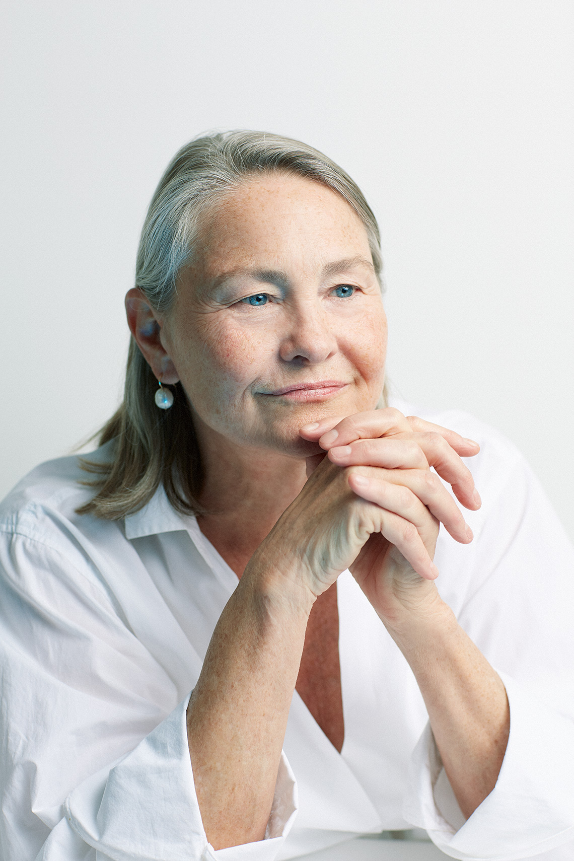portrait of actress Cherry Jones
