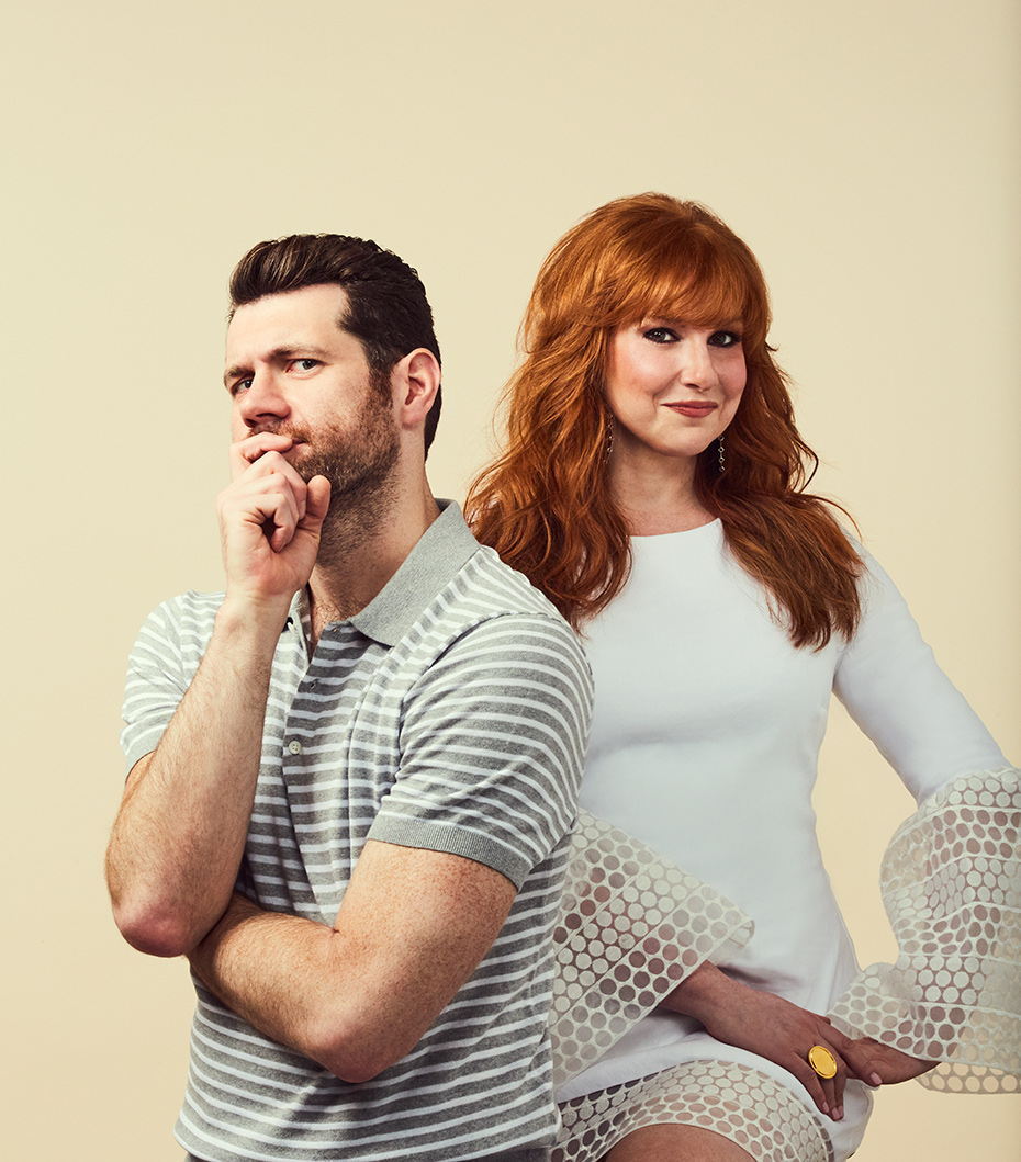Difficult People Billy Eichner and Julie Klausner