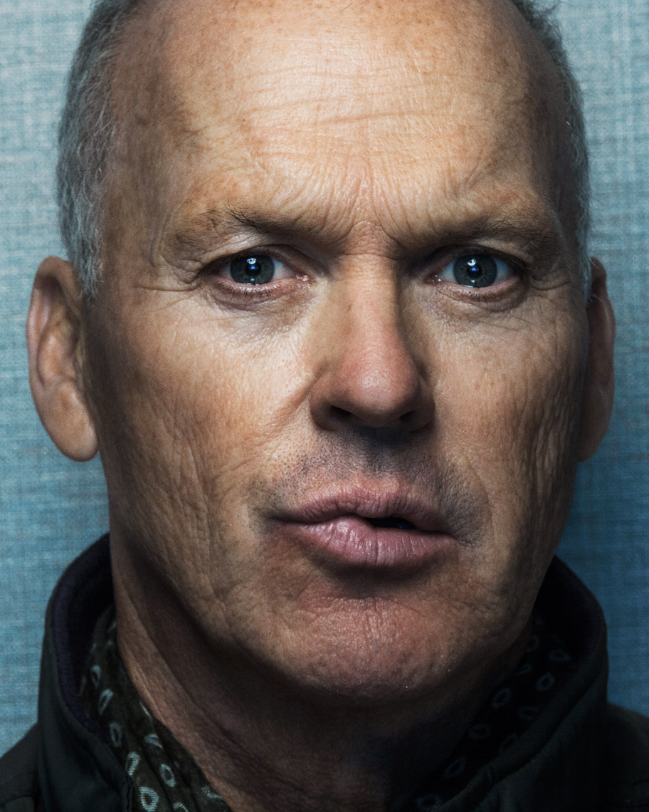 Michael Keaton portrait for Birdman