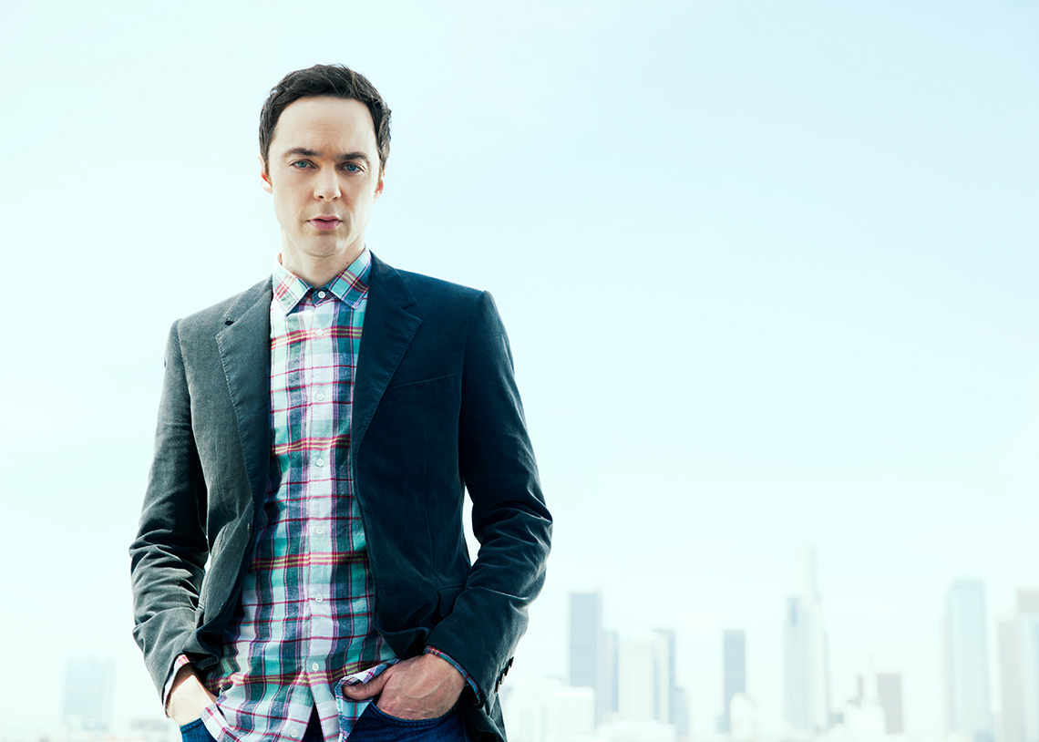 Jim Parsons portrait