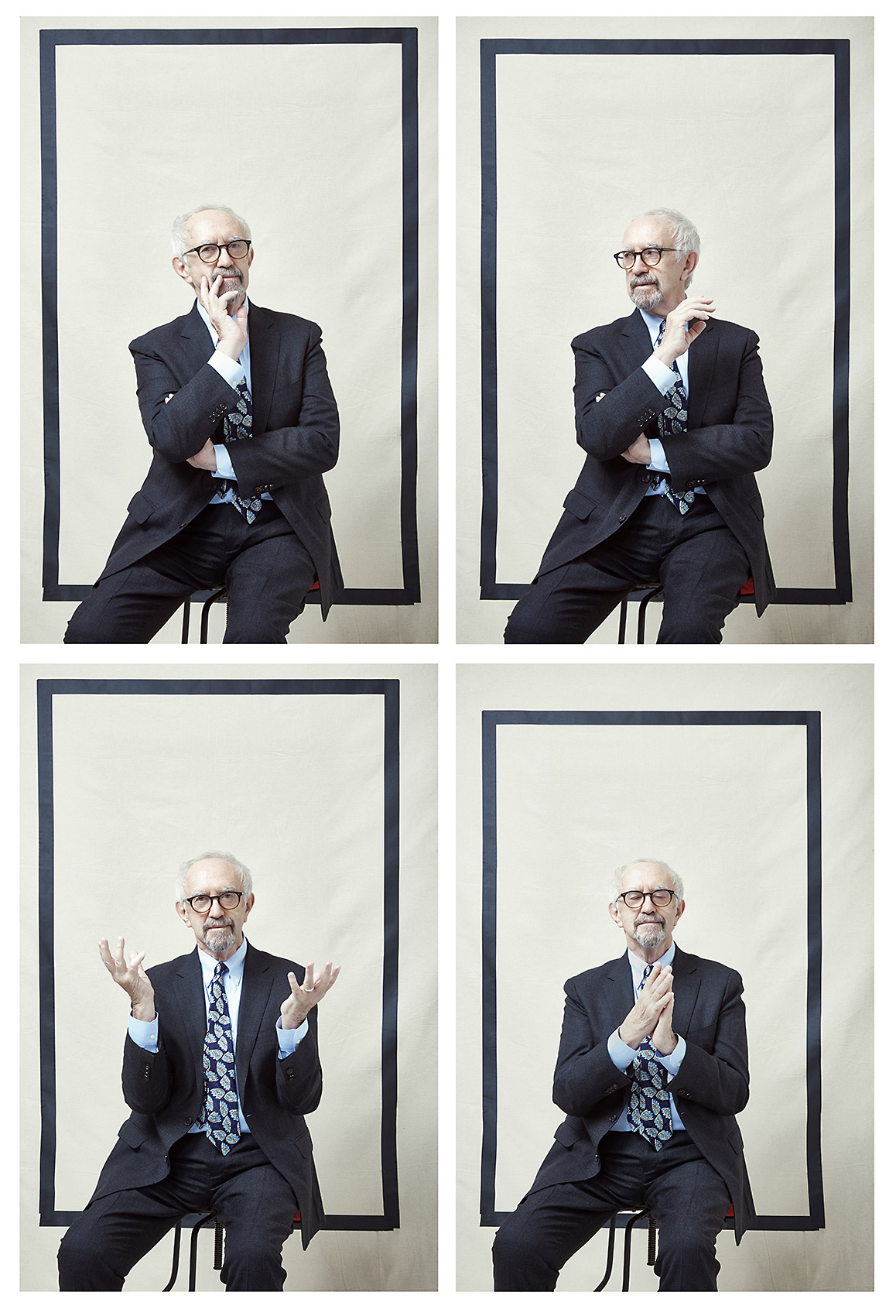 portraits of actor Jonathan Pryce