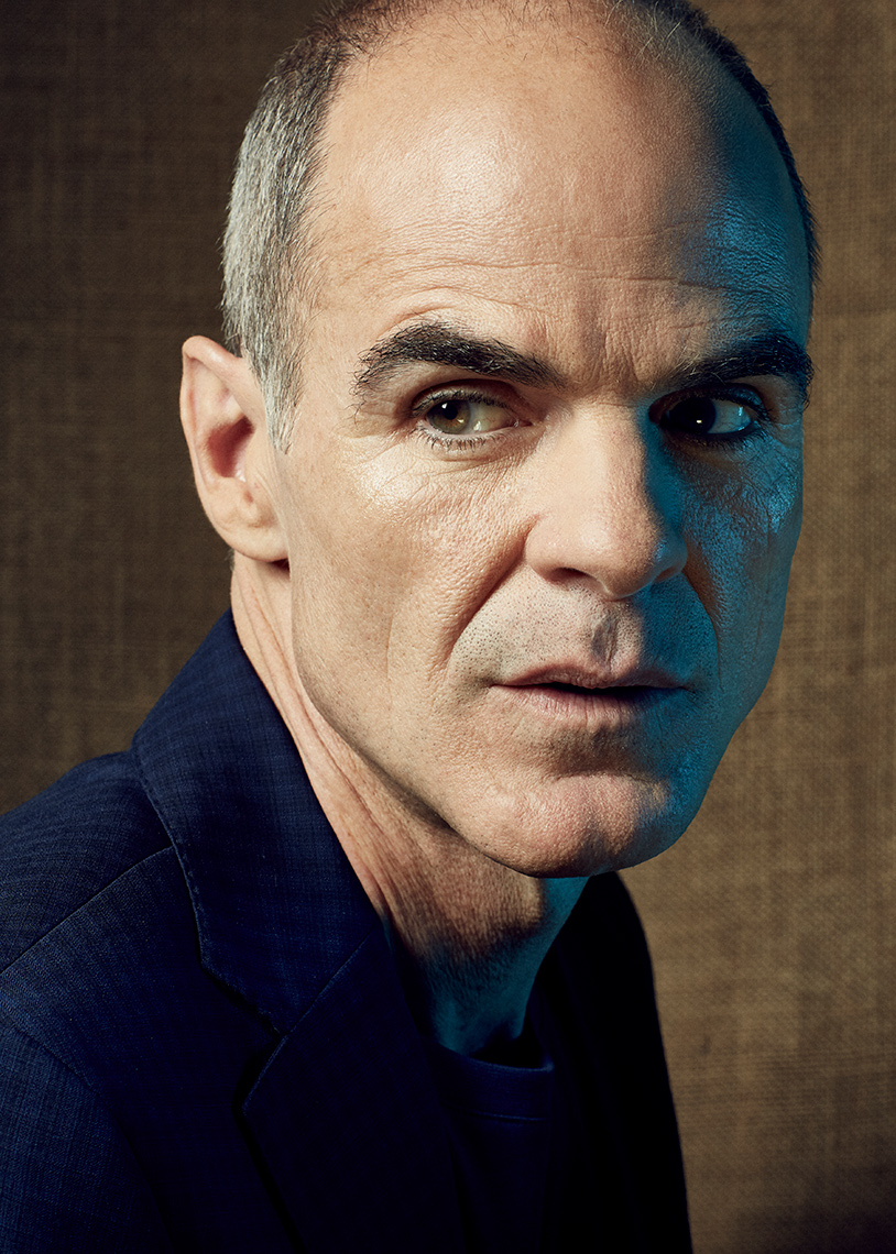 portrait of actor Michael Kelly