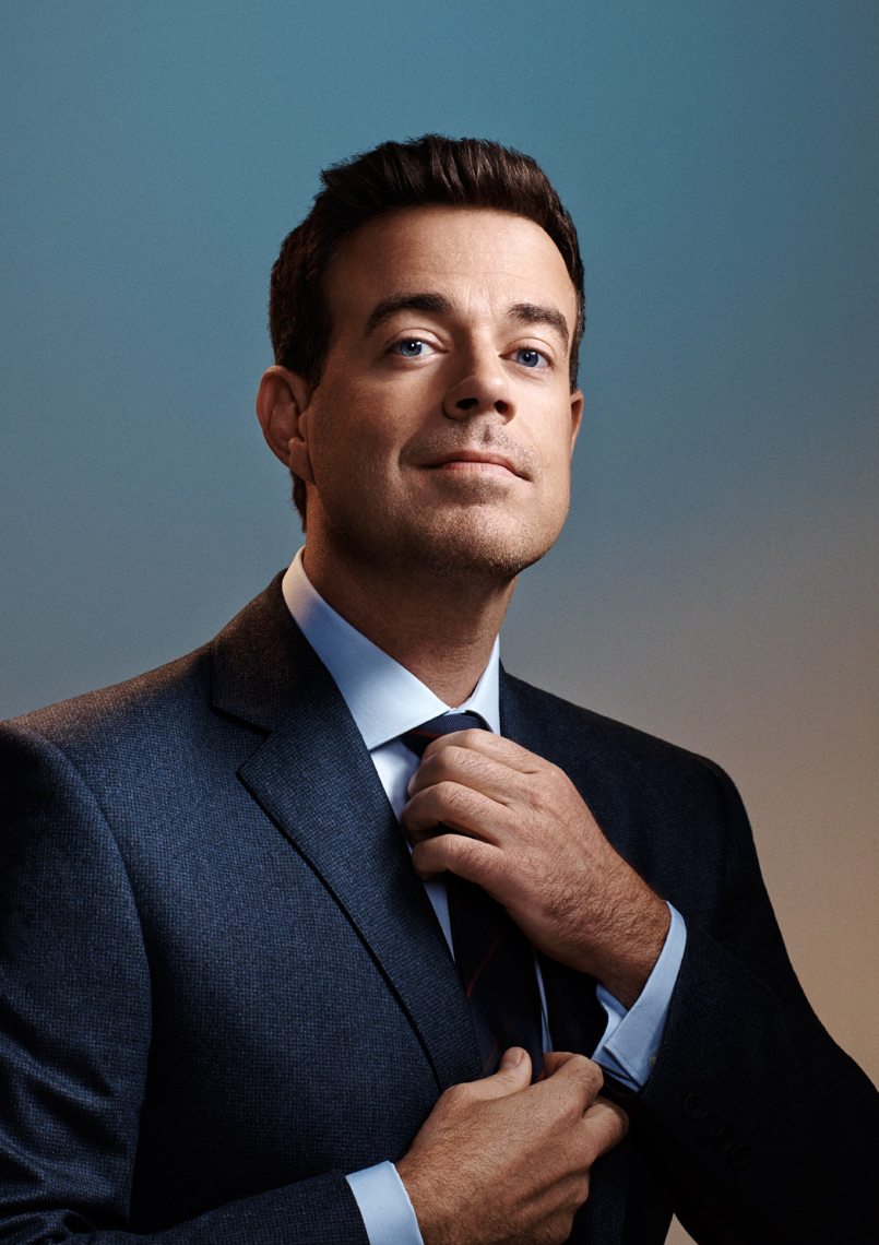 Carson Daly portrait New York City