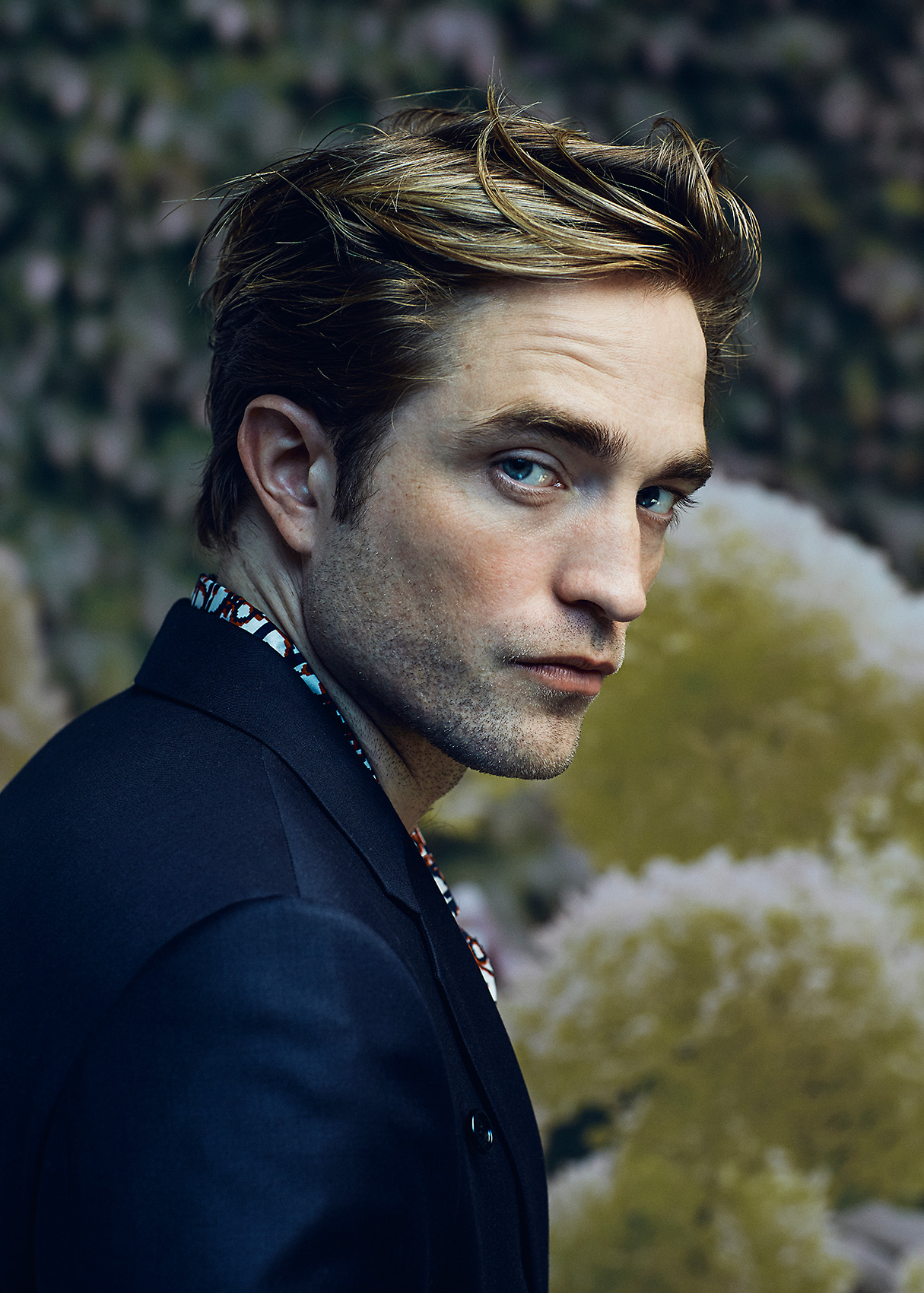 Robert Pattinson portrait tight