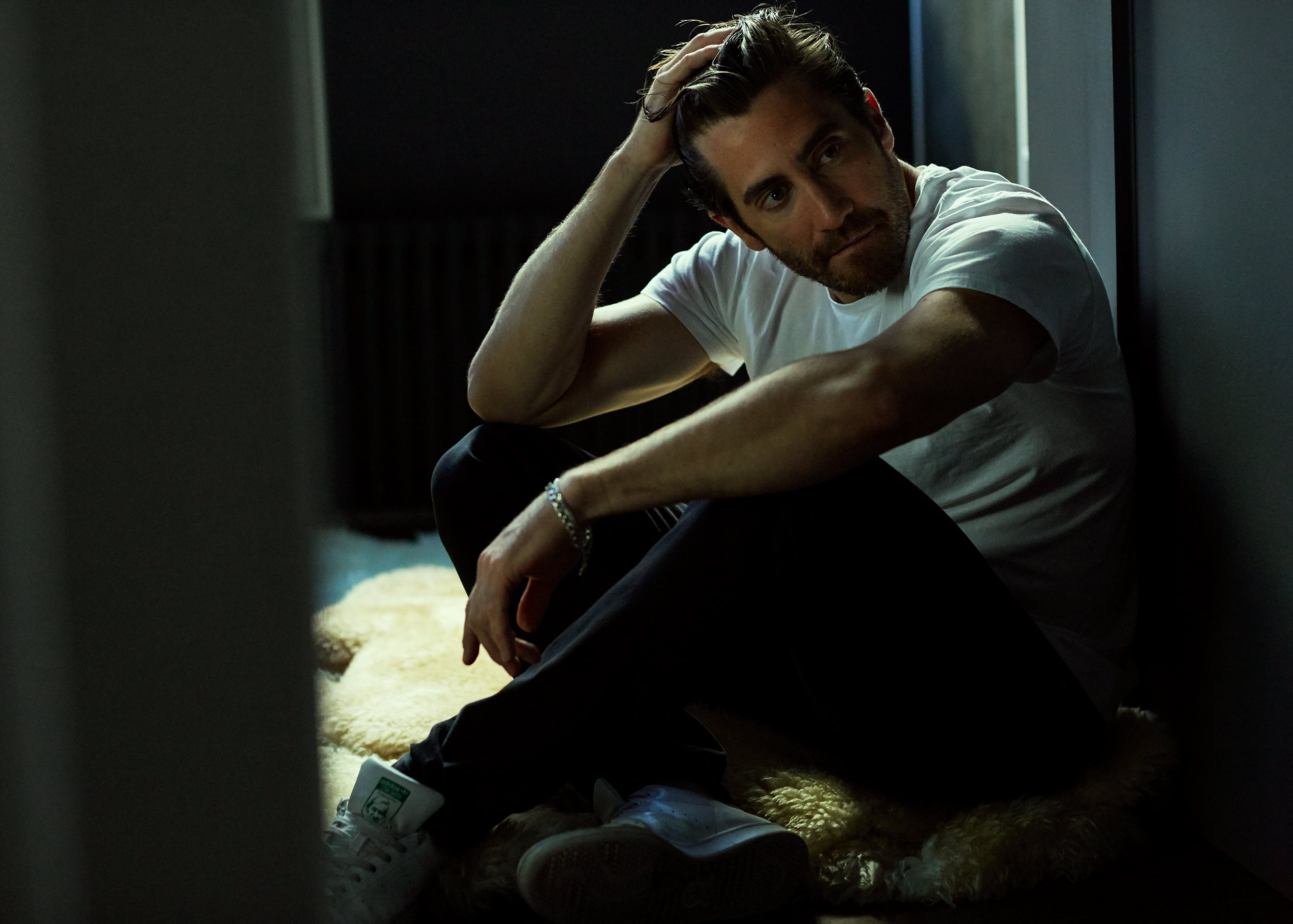 Jake Gyllenhaal photographed in New York City