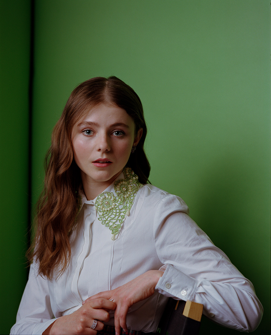 actress Thomasin McKenzie portrait