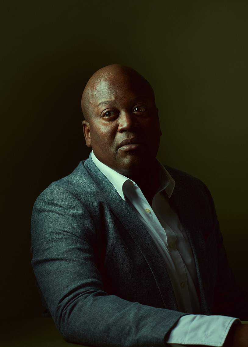 Tituss Burgess portrait New York City